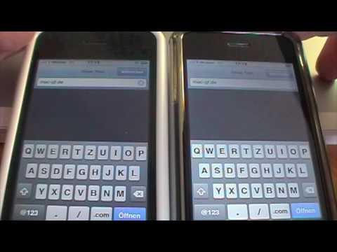 iPhone 3G S vs 3G - Vergleichstest