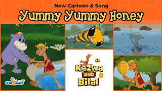 New Zaky Cartoon - Yummy Yummy Honey & Song