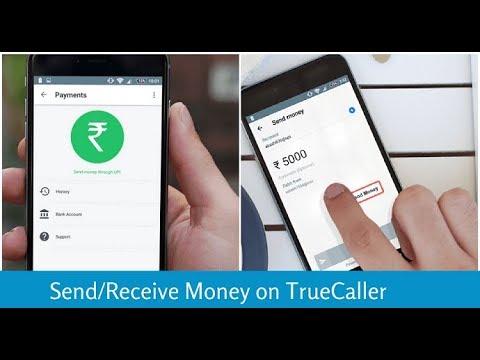 Send/Receive Money on Truecaller Using UPI
