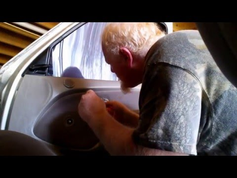 Replacing a Door Handle on a Toyota Tacoma