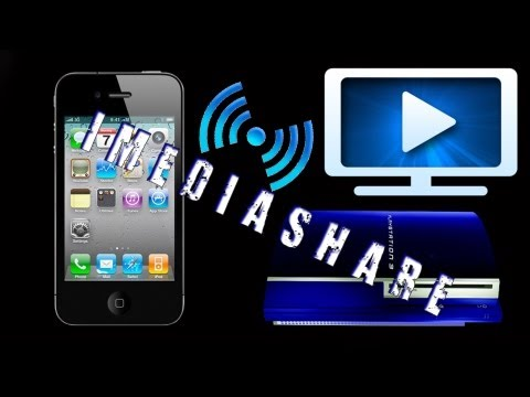 How To Show/Import Photos/Videos/Music From iPhone/iPod/iPad to PS3/XBOX using iMediaShare App