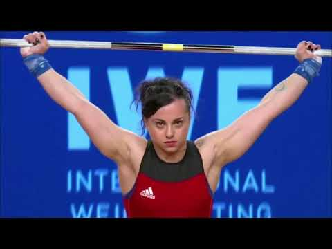 Women's 58 kg A Session Snatch - 2017 IWF Weightlifting World Championships (WWC)