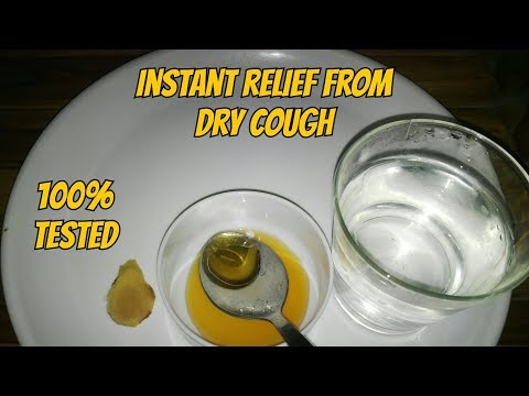 Dry cough | Sore throat | Instant relief home remedies