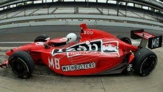 MythBuster vs. Race Car | MythBusters