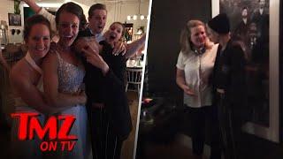 Kristen Stewart and Her Girlfriend Stella Maxwell Crash A Wedding | TMZ TV