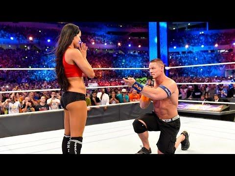 John Cena proposes to Nikki Bella at WrestleMania 33