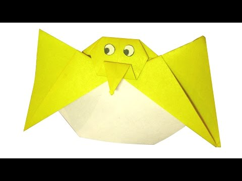 Origami Chick in Egg