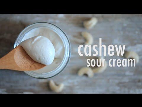 VEGAN CASHEW SOUR CREAM | hot for food