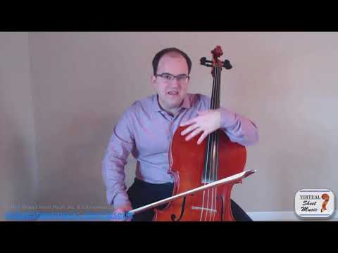 Cello Lesson - How to Deal with Rosin