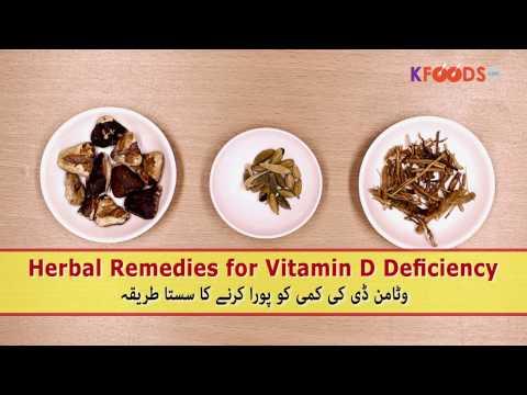 Herbal Remedies for Vitamin D Deficiency