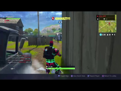 Fortnight Playing  Season 4 with suscribers Duo