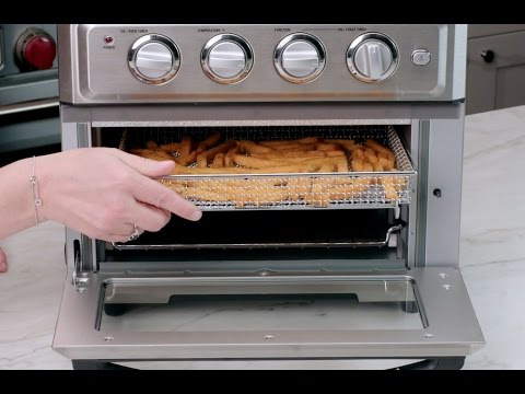 Air Fryer Toaster Oven Demo (TOA-60)