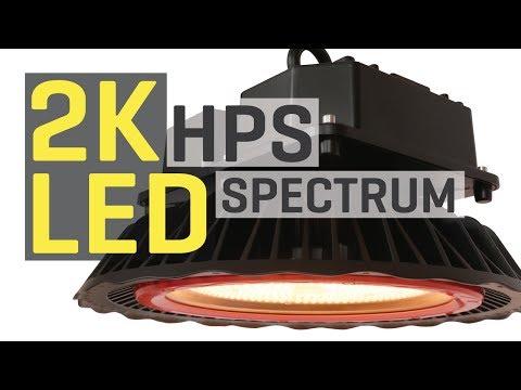 New 2000K HPS Spectrum LED Grow Light