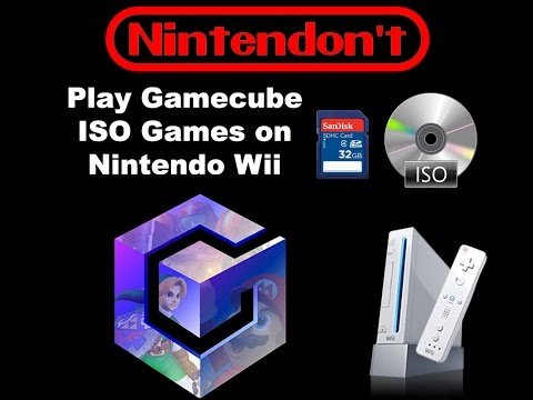 How to Play Gamecube Games on your jailbroken Wii System using an SDHC SD Card with nintendont