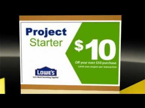 lowe s coupon