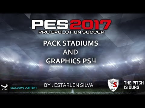 Tutorial Installation Pack Stadiums + Graphics PS4 by Estarlen Silva PES2017