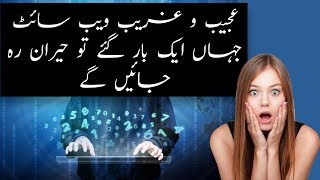 Top 5 Most Strange and Unbelievable Websites on Internet Today   Hindi / Urdu