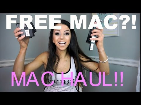 How to get FREE MAC cosmetics!