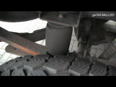 ADJUSTABLE AIR RIDE CONTROL INSTALLED | LIFT BAG HELPER SPRING KIT | DODGE RAM PICK UP LOAD CAPACITY