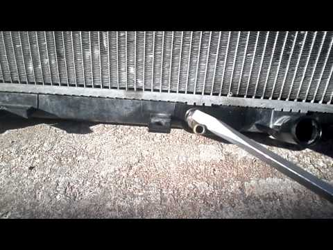 2002 Honda radiator replacement tips and hints only