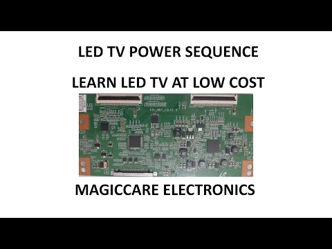 UNDERSTANDING OF POWER SEQUENCE IN LED LCD TELEVISION