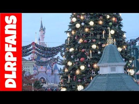 Christmas 2016 Decorations and Atmosphere at Disneyland Paris