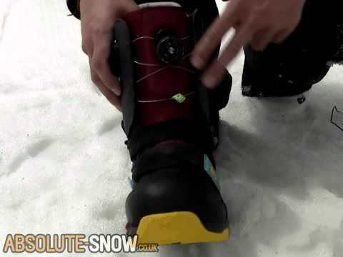 Boa Snowboard Boot Lacing Explained