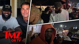 LeBron & Drake Link Up At L.A. Club!   TMZ TV