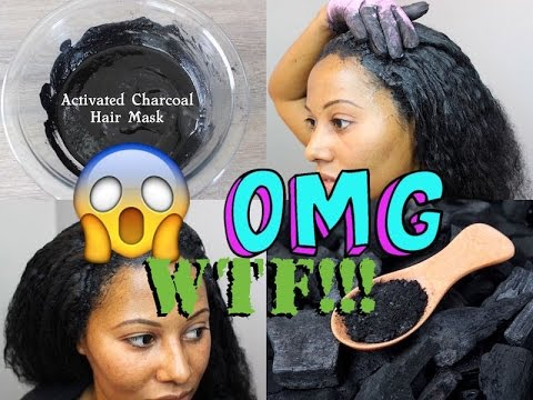 Activated Charcoal Hair Mask | Detox for Fast Hair Growth