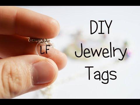 DIY Jewelry Tags | Tutorial