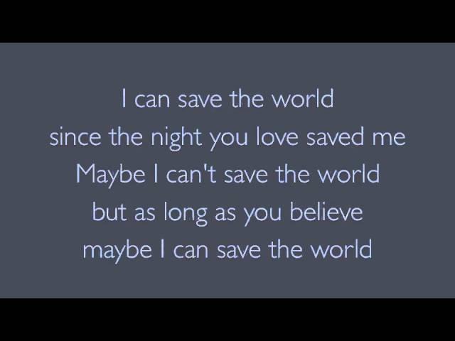 Bon Jovi - Save the World