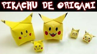"""SUSCRÍBETE!: http://goo.gl/CNeicz Hoy en Te Digo Cómo Se Hace te vamos a enseñar a hacer estos simpáticos Pikachus de origami, transforma una sencilla hoja de papel en el famoso personaje amarillo de Pokémon. SIGUENOS EN: Twitter: https://twitter.com/#!/TDCSH Facebook: https://www.facebook.com/TeDigoComoSeHace Instagram: http://instagram.com/tdcsh  Suscríbete a Nuestros """"Canales Personales"""" Para No Perderte Nada. Fernando: http://www.youtube.com/user/FernandoTDCSH Juan: http://www.youtube.com/user/JuanTDCSH Pablo: http://www.youtube.com/user/PabloTDCSH El Show de la Araña Cuenta Chistes: https://goo.gl/ea5lZF"""