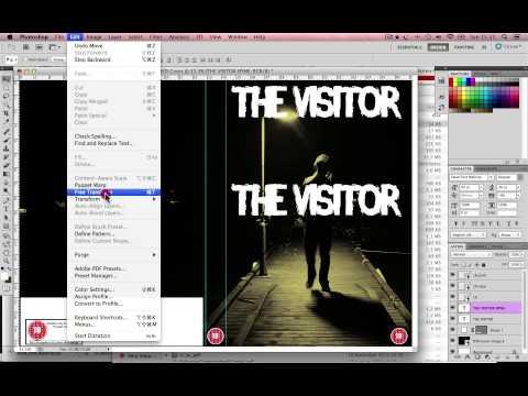 DVD cover tutorial