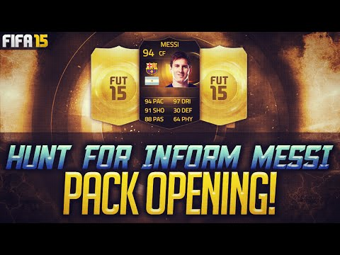 BEST OF 12000 FIFA POINTS HUNT FOR IF MESSI FIFA 15 PACK OPENING