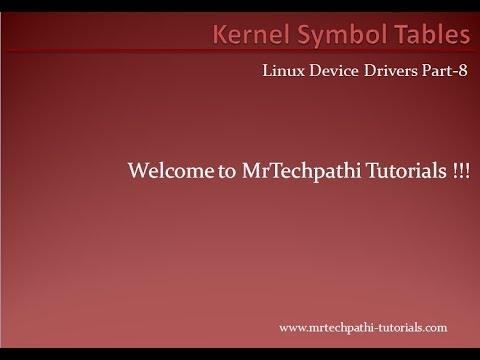 Linux device Drivers Part - 8 : Kernel symbol tables