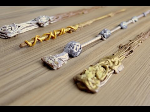 Edible Harry Potter Wands | How to Video | CarlyToffle