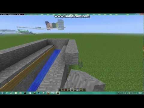 Minecraft Tutorial - How to make an automatic melon farm