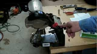 How To Sharpen A Chainsaw Chain Blade And Set Up Your Chain Grinder S