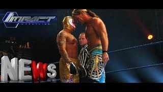 Rey Mysterio Chris Jericho IMPACT Wrestling 2018 DEBUTS! Big Name Almost Debuted With Impact