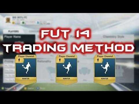 Fifa 14:UT:Hunter chemistry style trading method