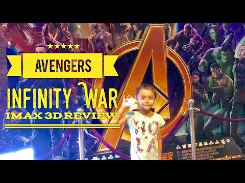 Avengers Infinity War IMAX 3D Review and Reaction SM Aura BGC Taguig Metro Manila