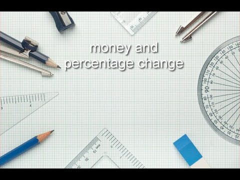 How to Ace GED Math (2018) - Money and Percent Change