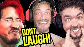 Try Not To Laugh at Youtubers Try Not To Laugh Challenge