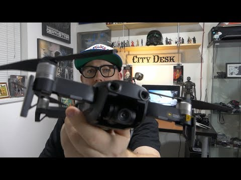 DJI Mavic Air Unboxing And Size Comparison