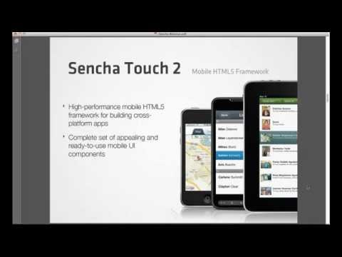 Building Multi-device Apps with Sencha Complete