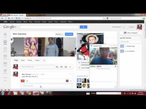 How to video chat on gmail