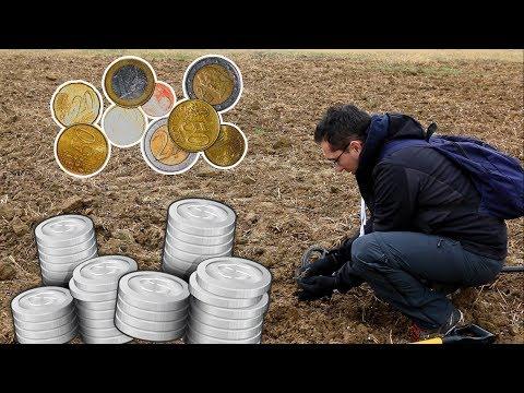 Des monnaies à la pelle / WE FOUND A LOT OF FRENCH COINS