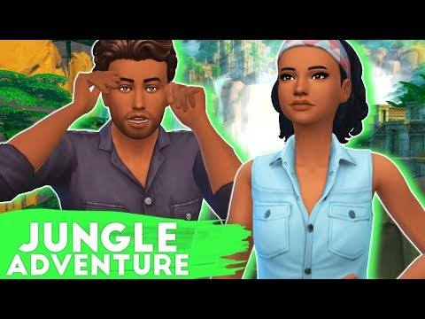 OFF TO THE JUNGLE!🌴🍃 // THE SIMS 4 | JUNGLE ADVENTURE #1