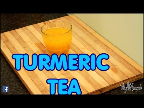 FLAT TUMMY DRINK WITH TURMERIC ,HONEY LEMON PEPPER ,2017 RECIPE