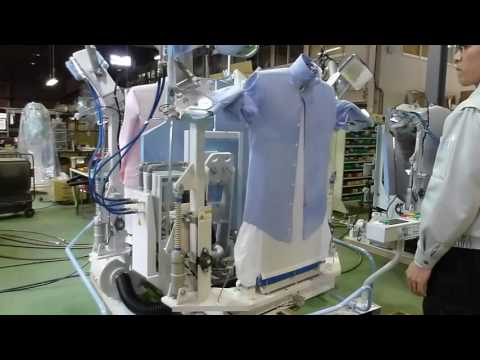 150 Shirts Per Hour Fully Automatic Shirt Ironing Machine